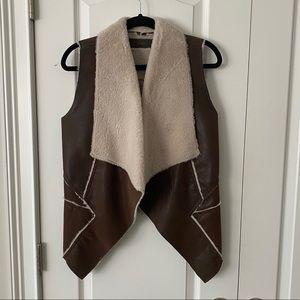 NWOT BlankNYC Faux Fur Vest